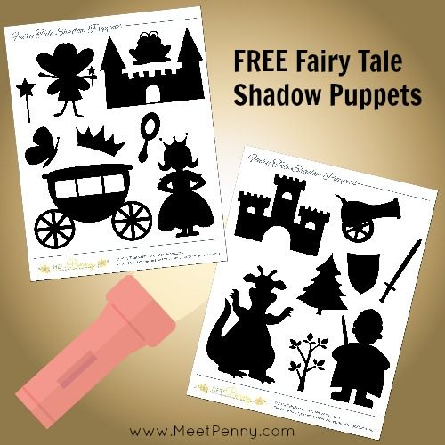 Fairy Tale Printables and Activities