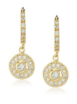68% OFF Belargo Round Drop Earrings