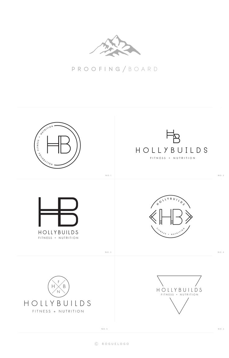 Proofing process for hollybuilds by jay darcy for rogue logo