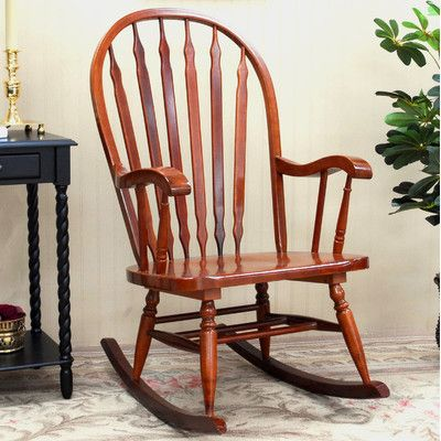 Windsor Rocking Chair For Sale | Wayfair