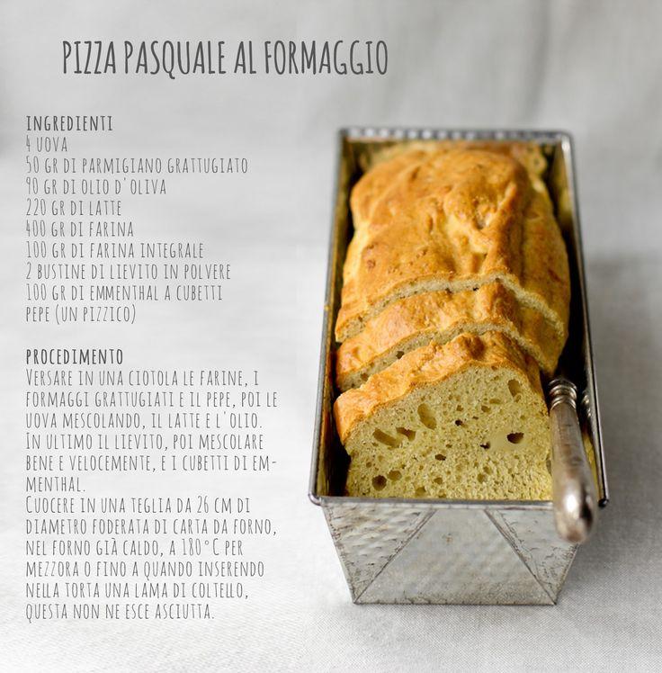 """- VANIGLIA - storie di cucina: menù di Pasqua: la """"pizza"""" di formaggio dell'ultimo minuto"""