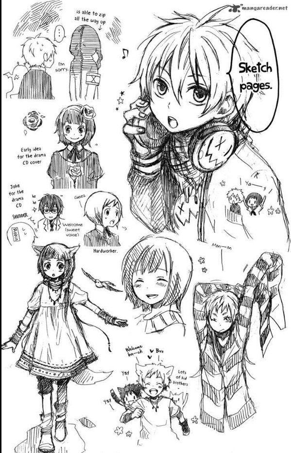 kurenai ouji sketch page 1 anime pinterest sketches anime and anime sketch