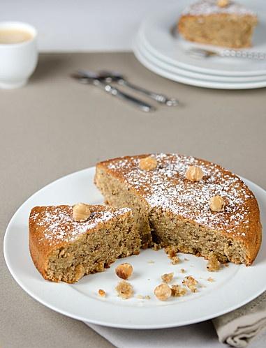 gâteau noisettes-café