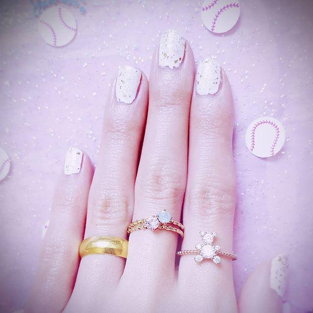 New nail  #Lolita #selfnail #todaysme #todaysoutfit #codeine #fashion #girly #girl #nailart #cute #sweet #pastel #rings #nail #pink #dreamy #photooftheday #ootd #dolly #outfit #manikur #セルフネイル #ピンク #ファッション #ガーリー #ゆめかわいい #ネイル #今日のコーデ #パステル #マニキュア