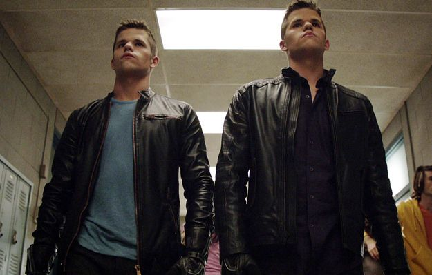 They pretty much just walk around actin' all alpha. | Max And Charlie Carver Are Basically The Hottest Twins On TV http://www.buzzfeed.com/mattbellassai/max-and-charlie-carver-are-basically-the-hottest-twins-on-tv