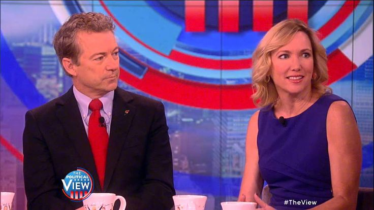 Rand Paul's WIfe Kelley On His Presidential Run | The View