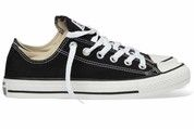 Zwarte Converse sneakers All Star OX gympen