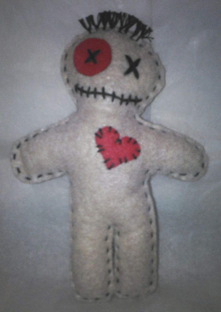 New and Unique Handmade Voodoo Doll