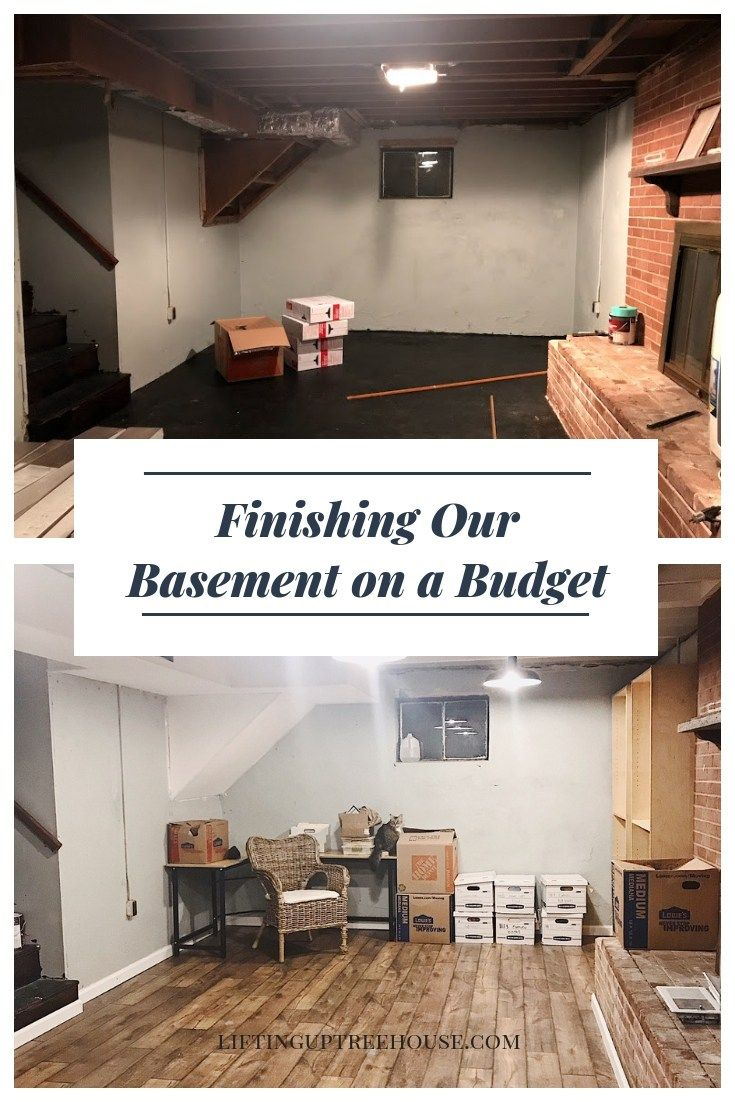Finishing Our Basement On A Budget Home Decor Small