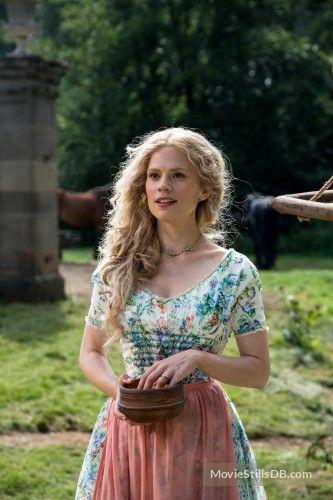 Cinderella publicity still of Hayley Atwell