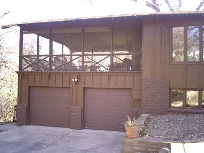 Screened Porch Over Garage For The Home Pinterest