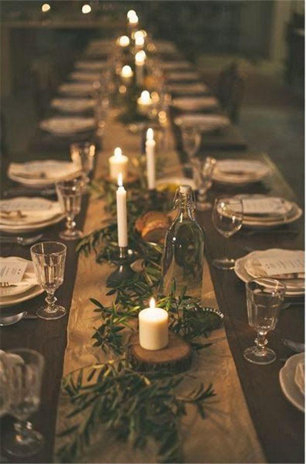 Burlap Rustic Wedding Table Runner