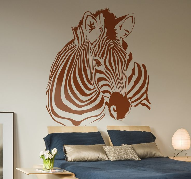 Spectacular sticker with a beautiful representation of a zebra. #Animals #Wallstickers #AlternativeDecor