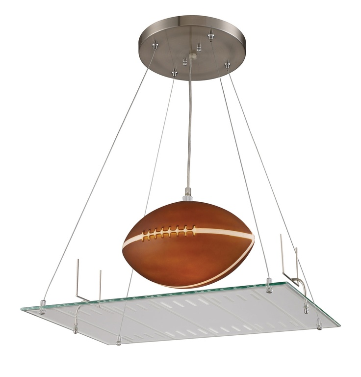 Elk Lighting Novelty One Light Football Field Motif Pendant