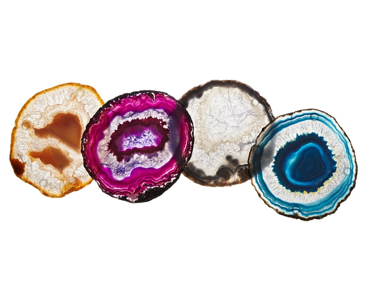 Agate coaster set: Decor, Agates Coasters, Uncommon Good, Uncommongood Com, Gifts Ideas, So Pretty, Coasters Sets, Pretty Coasters, Products