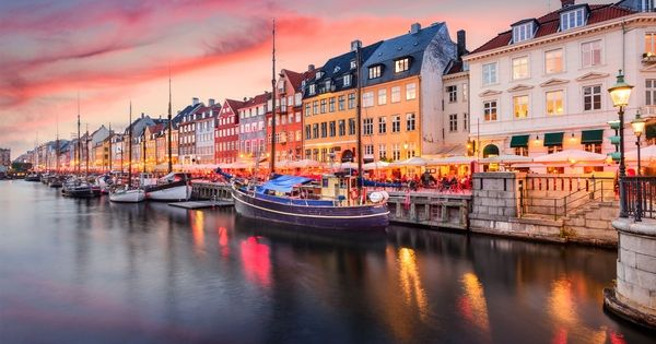 The Smallest And Southernmost Of The Scandinavian Countries Denmark Consists Of The Jutland Peninsu Best Places To Live Countries Of The World Places To Visit