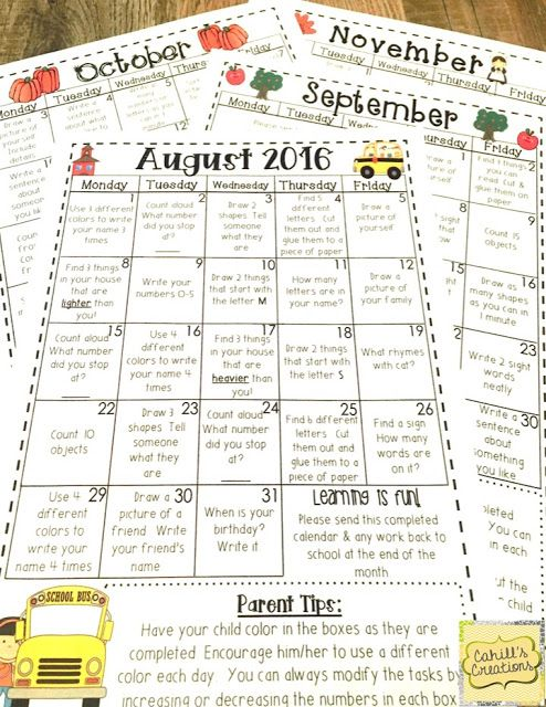 https://www.teacherspayteachers.com/Product/Homework-Calendars-2016-2017-2642349
