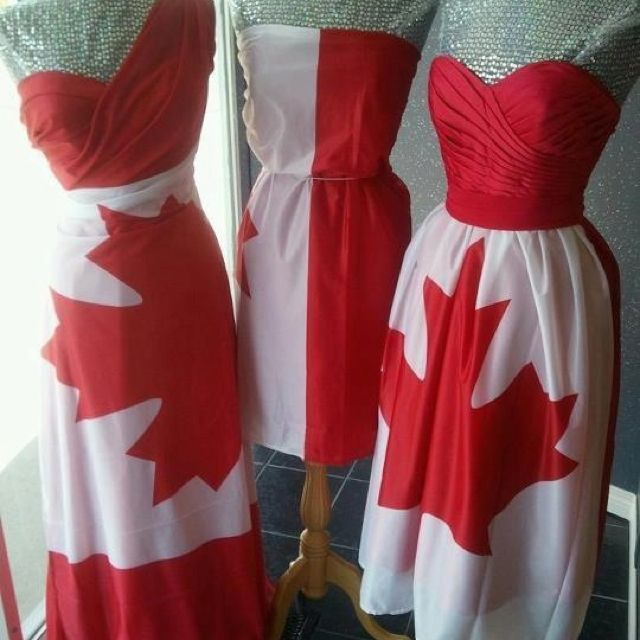 Love these dresses! Happy Canada Day More