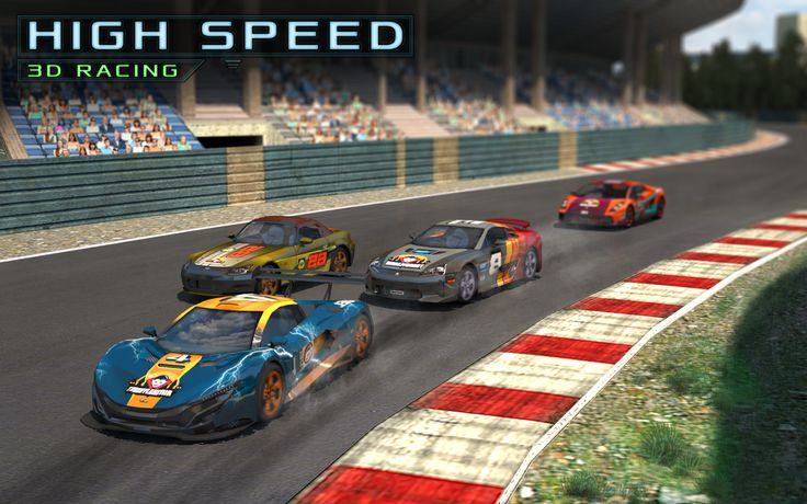 Our first racing game is out!  Download it and give us your feedback and suggestions.