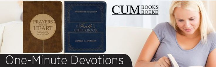 Wonderful devotionals for those who want to persevere in prayer!