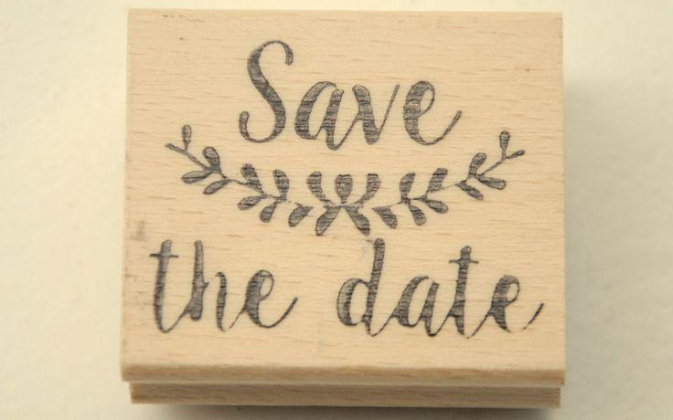 Stempel laten maken bij Stempelfun voor jouw grote dag: Save the Date stempel bij #Stempelfun  https://www.stempelfun.nl/nl/product/zelfgemaakte-stempel-save-the-date/