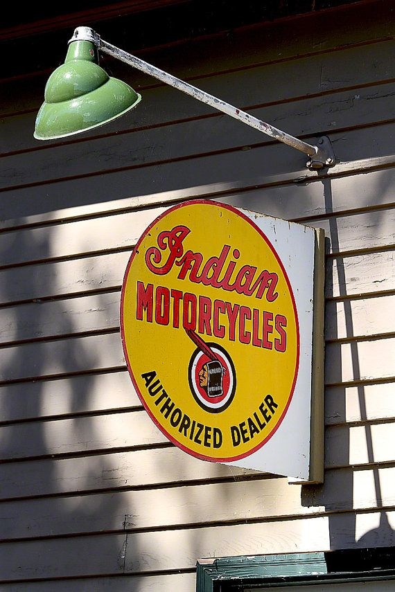Indian Motorcycles by JohnKDeaton on Etsy, $30.00