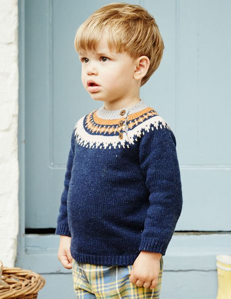 Boys Winter Jumper - one thing to wear