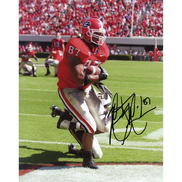 "Martrez Milner Georgia Bulldogs Fanatics Authentic Autographed 8"" x 10"" Scoring Touchdown Photograph - $19.99"