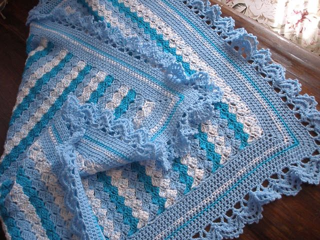 Beautiful Crochet Blanket Beby with step by step Crochet Easy Model. | Crochet Patterns