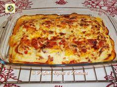 Lasagne di polenta ai formaggi e prosciutto Blog Profumi Sapori & Fantasia