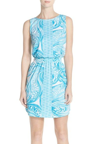 Lilly Pulitzer® 'Windward' Pima Cotton Blouson Dress available at #Nordstrom