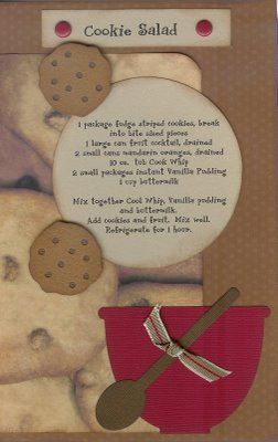 Paper Cottage: Recipe of the Week & Page of the Week