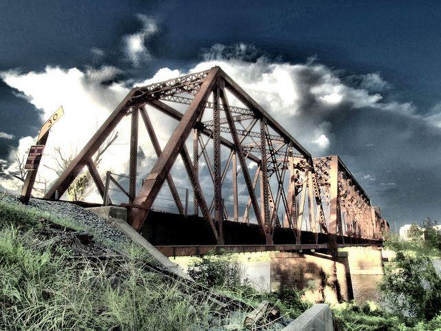 West Monroe LA | West Monroe Louisiana Ouachita River train bridge | Flickr - Photo ...