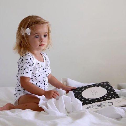 Such a dreamy shot of Little and Sleepy monochrome board book  #littleandsleepy #sleepykoala (image: @allababoutisla)