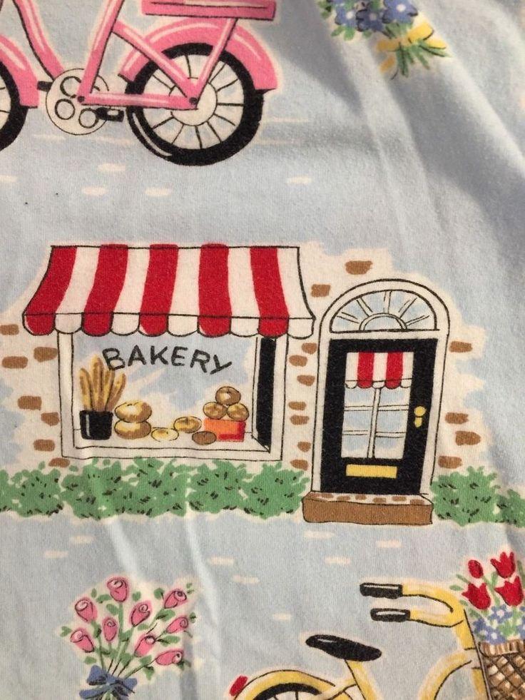 Nick and Nora Pajama Lounge Pants Size XL Cotton Knit Bikes Shops Puppy #NickNora #LoungePantsSleepShorts #Everyday