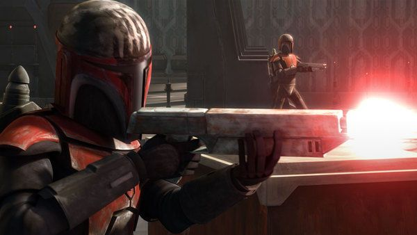 Mandalorian Super Commando - Star Wars Clone Wars °°