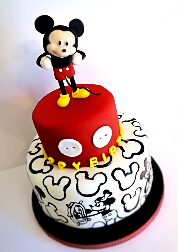 Fondant Mickey Mouse Jacksonville Fl Cake Decorator Sarah