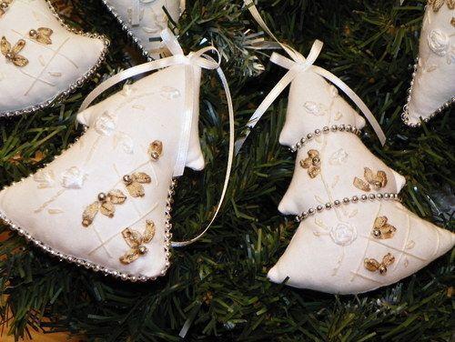 vyšívaná vánoční romantika