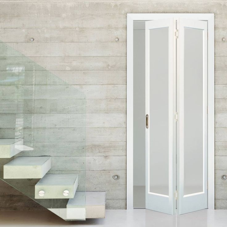 Interior Bifold Doors With Frosted Glass