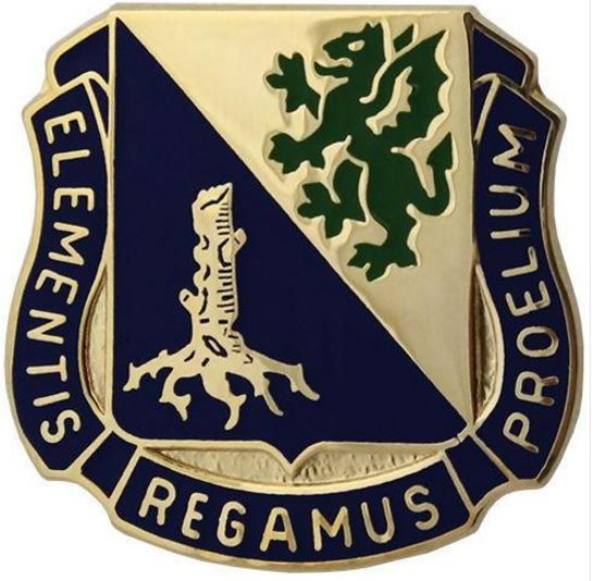 Army Chemical Regimental Corps Crest