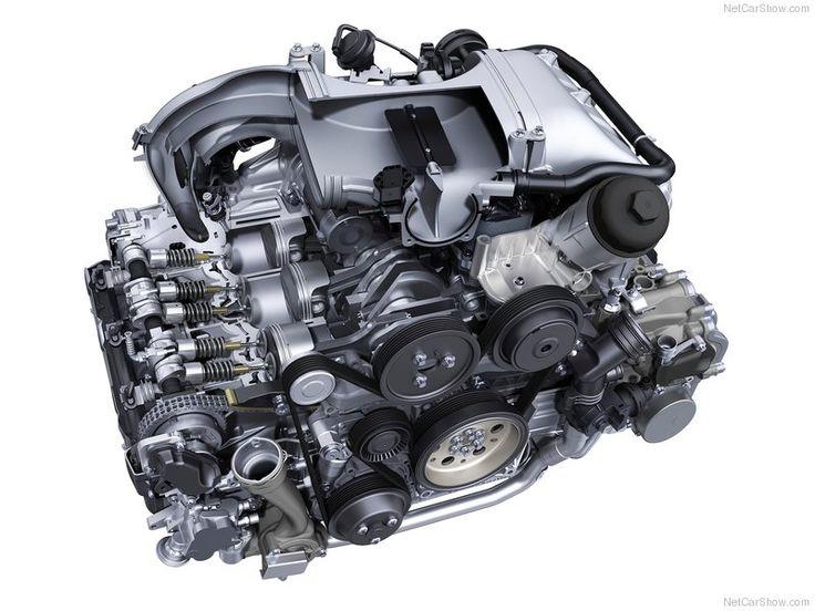 2015 Porsche 911 Carrera GTS Engine