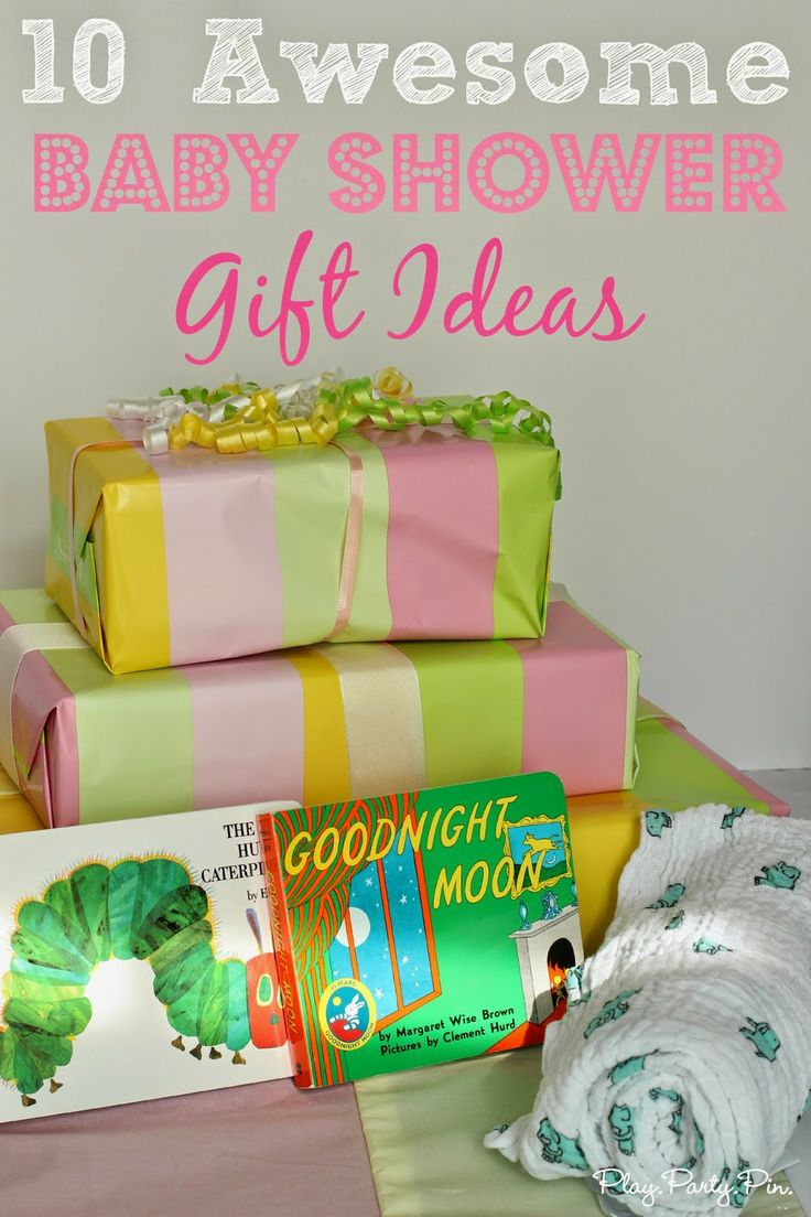 10 awesome and unique baby shower gift ideas from playpartypin.com #babyshower #gift