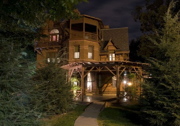 Mark Twain: Mark Twain House&Museum, Connecticut