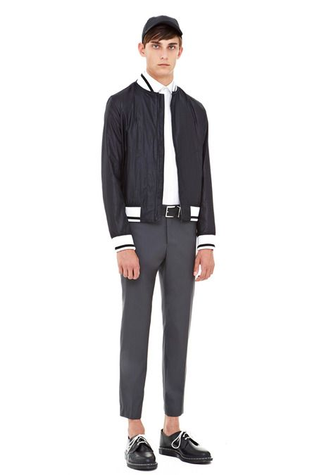 DKNY Spring 2014 Menswear Collection Slideshow on Style.com