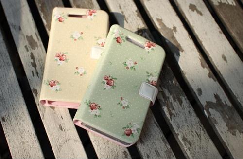 """Picnic""HAPPYMORI iPhone 5 Korean Flip Diary Type Cute Case Cover 5 Colors   eBay"