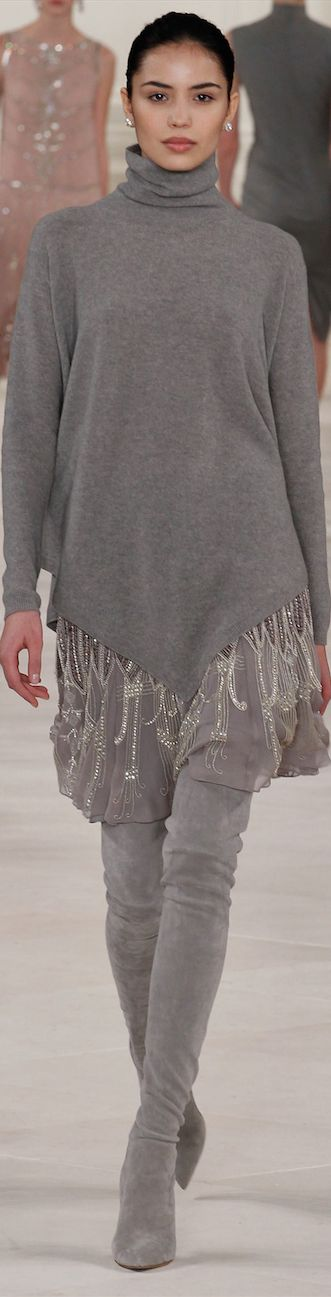 Oh wow, I ❤️ love this look - Ralph Lauren Fall 2014 ~ Mercedes-Benz Fashion Week