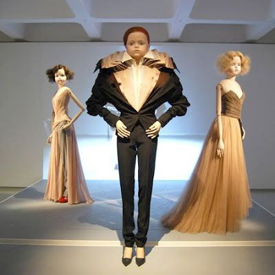 If It's Hip, It's Here (Archives): Viktor & Rolf's Barbican Exhibit With Side By Side Comparisons of the Dolls & Fashions With The Runway Models