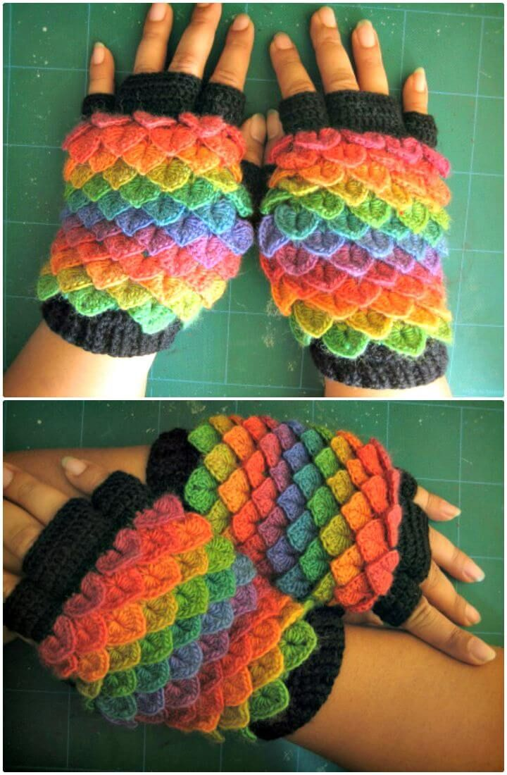 20 Free Crochet Patterns Using Crochet Crocodile Stitch Paracord
