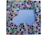 Kids Craftkit Mirror Mosaic Car  Kinder-knutselpakket Mozaiekspiegel Auto