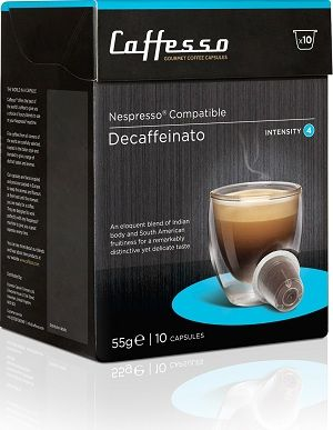 Caffesso Decaffeinato. Intensidad 4.